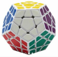 Rubik's Megaminx Fanxin Speed Cube White Body