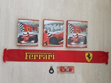 Ferrari items  sleutelhanger Key ring  Sjaal Scarf Schal Klapper Folder file