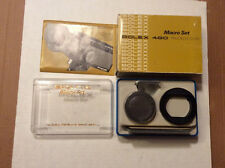 Bolex Macro Set for Macrozoom camera 480 In Original Box w/ instructions