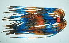 "10 Custom Made Silicone Spinnerbait Skirts(R.I. Bluegill)-Bass Fishing-""NEW"""