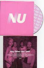 CD CARTONNE 1T NU  ANY OTHER GIRL   DE 2003 TRES BON ETAT