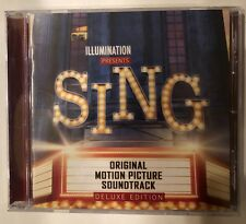 'Sing' Soundtrack Exclusive Limited Deluxe Edition Bonus Tracks CD NEW - Rare!