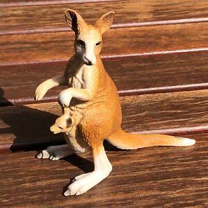 Schleich Kangaroo - Wild Life - Zoo Animal - Vintage2000