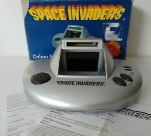 Vintage Retro 1978 Space Invaders Hand-Held Game Boxed Instructions Zeon FWO