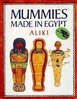 Reading Rainbow Mummies, Made in Egypt by Aliki - NEW