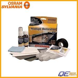 Headlight Restoration Kit Osram-Sylvania For: Audi BMW Mercedes Mini SAAB Volvo