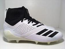 Adidas Adizero 5-Star 7.0 Mid White Black CQ0340 Men's Football Cleats Size 11.5