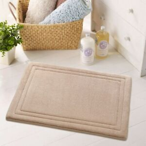 High quality machine washable memory foam bath mat anti-slip mat absorbent mat