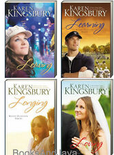 Bailey Flanigan 1-4 Leaving,Learning,Longing + by Karen Kingsbury (Paperback)