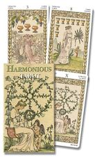 Harmonious Mini Tarot Deck - 78 Cards & Instruction Booklet
