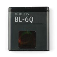Authentic Replacement Battery BL-6Q For NOKIA 6700C 6700  BL6Q Batteries 970mAh