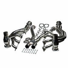 "For 97-04 Chevy Corvette 5.7L Long Tube 1 3/4"" Exhaust Headers System&X Pipe Kit"