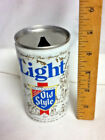 """Old style light pure genuine old aluminum beer can 12 oz. 4.75"""" heileman's AY6"""