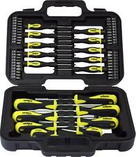 Rolson 28882 Screwdriver Set - 58 Pieces - DIY Tools In Carry Case