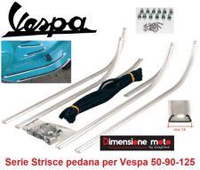 5370 - Kit Strisce/Listelli Pedana in Alluminio per Piaggio Vespa 50 SS dal 1965