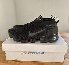 Nike Air VaporMax Flyknit 3 Triple Black Men's UK 7 EUR 41 AJ6900 004