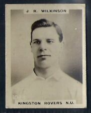 PINNACE FOOTBALL-PINNACE BACK-#1023- RUGBY - KINGSTON ROVERS NU J. R. WILKINSON