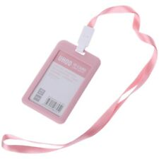 PP ID Card Holder Candy Colors Name Tag Exhibition Cards Business Badge Holder