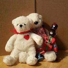 Sheet Set Kids Toys Shelf Ornament 2Bears+Woodenman Gift Games Dolls Animals Fun