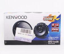 "Kenwood KFC-1665R 6.5"" 2-Way Road Series Coaxial Car Speakers & Grills OB New"