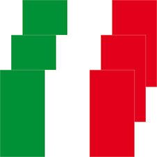 3 Aufkleber 8,5cm Sticker Italien Italy Fußball EM WM National Flaggen Fahnen