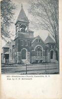 CANASTOTA NY – Presbyterian Church - 1910