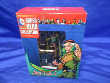 Eaglemoss Ra's Al Ghul Dc Super Hero Collection With Booklet Open Complete 2015