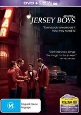 NEW..JERSEY BOYS - STORY OF FRANKIE VALLI & THE 4 SEASONS DVD + ultraviolet