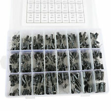 Electrolytic Capacitor Assortment Kit 01uf 1000uf 16v 50v 24 Value With Box Usa