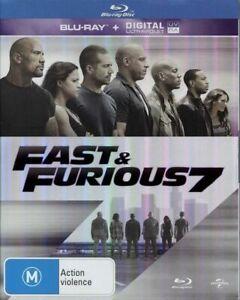 """FAST & FURIOUS 7"" Blu-ray - Region [B] NEW+SEALED - CLEARANCE -"