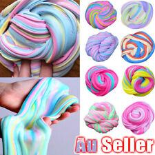 Colorful Floam Strechy Slimes DM Fluffy Rainbow Slime Stress Relief Toy Unicorn