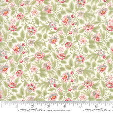 POETRY Print Small Floral Porcelain Quilt Fabric by 1/2 Yard #44134-11