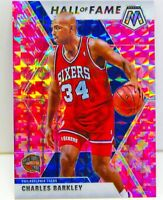 Charles Barkley 2019-20 CAMO PINK MOSAIC PRIZM Hall of Fame Card #282 PHI 76ers
