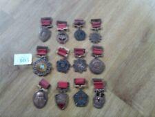Vintage Korean medal collection