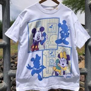 VTG 90s Mickey Unlimited Jerry Leigh Disney Cartoon SINGLE STITCH T Shirt OSFA