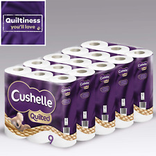Cushelle Quilted Toilet Roll Tissue Paper Koala Extra Softness 2 Ply - 45 Rolls