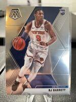 2019-20 Panini Mosaic RJ Barrett Base Rookie Card #229 New York Knicks