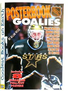2000 NHL PosterBook Goalies-Coolest Books-Brodeur-Hasek-Roy-Richter-Osgood