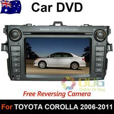 7.0 inch Car DVD PLAYER GPS Radio Stereo head unit For TOYOTA COROLLA 2006-2011