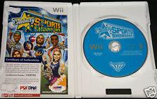 KRISTI YAMAGUCHI Signed Nintendo Wii Celebrity Showdown Game PSA/DNA Autograph