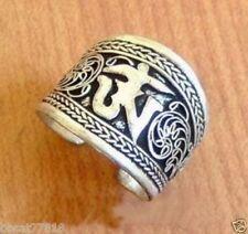 Nepal/Tibetan Tibet Silver One Word Mantra Thumb Ring