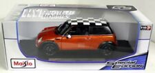 MAISTO 1:18 2011 MINI COOPER DIE-CAST BRONZE ORANGE 18-12034