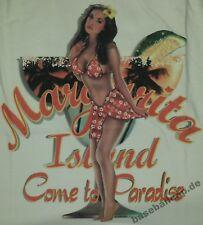 T-Shirt Margarita Island come to paradise Pin Up Hot Rod Rockabilly 288