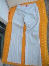 Damen Hose Marke Esprit Beige stoff  Stretch Gr 40 guter Zustand