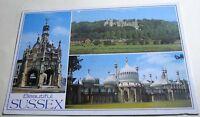 England Beautiful Sussex Multi-view PSX00836 J Arthur Dixon - posted 2002