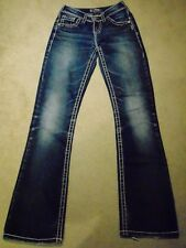 Silver Jean Co Natsuki Flap Women's Jeans distressed W25 L33