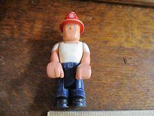 Fisher Price Husky Helper fireman firefighter fire truck chief firetruck man dad