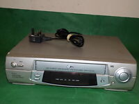 LG BD260I Video Cassette Recorder VHS Smart VCR Silver Quality Slim FULLY TESTED