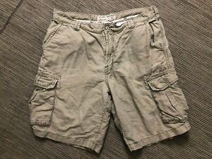 Tommy Bahama Mens 36 Cargo Shorts Linen Cotton
