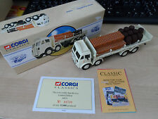 Corgi Classics ERF Flatbed With Cains and Barrels No 97942 BNIB Flowers Brewrey